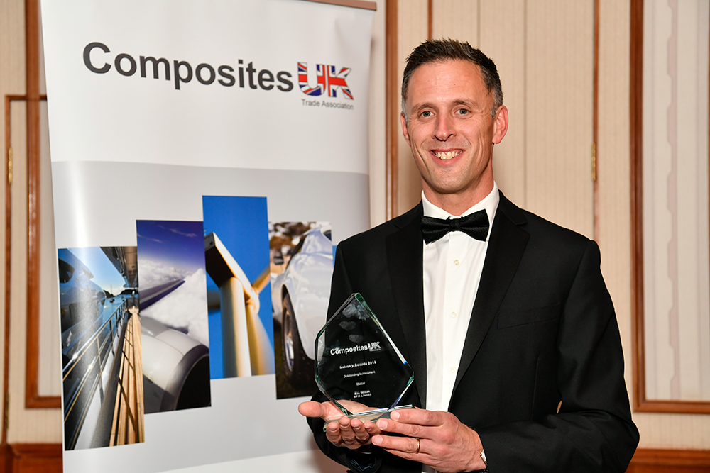Ben Wilson is voted in as Chairman of Composites UK